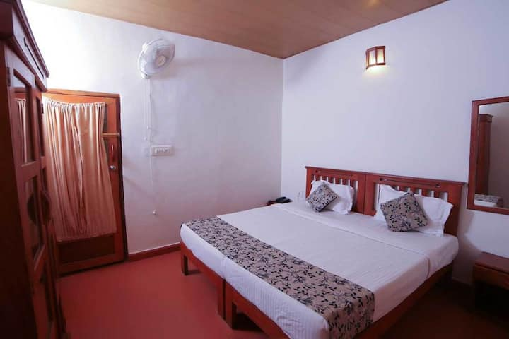 Plantation View Rooms in a resort at Munnar Kerala