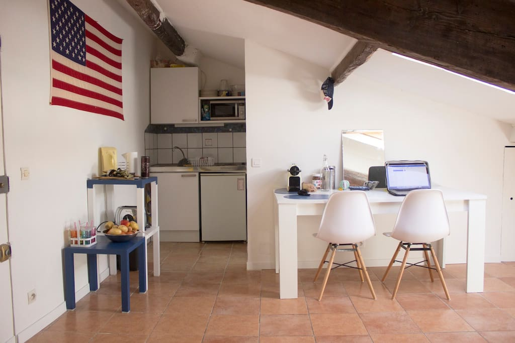 Studio au coeur de nice flats for rent in nice provence for Espace atypique nice