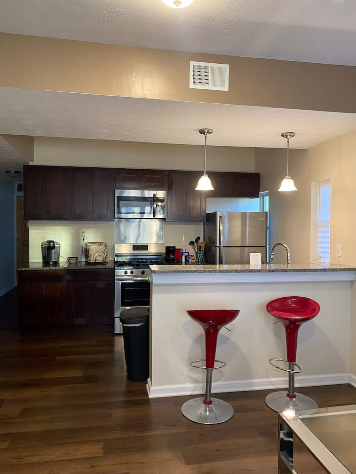 Stylish Newly Renovated 1BR Apartment Near CWRU