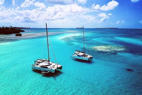 San Blas - Panama - Sailing Trip - Cata & Monohull