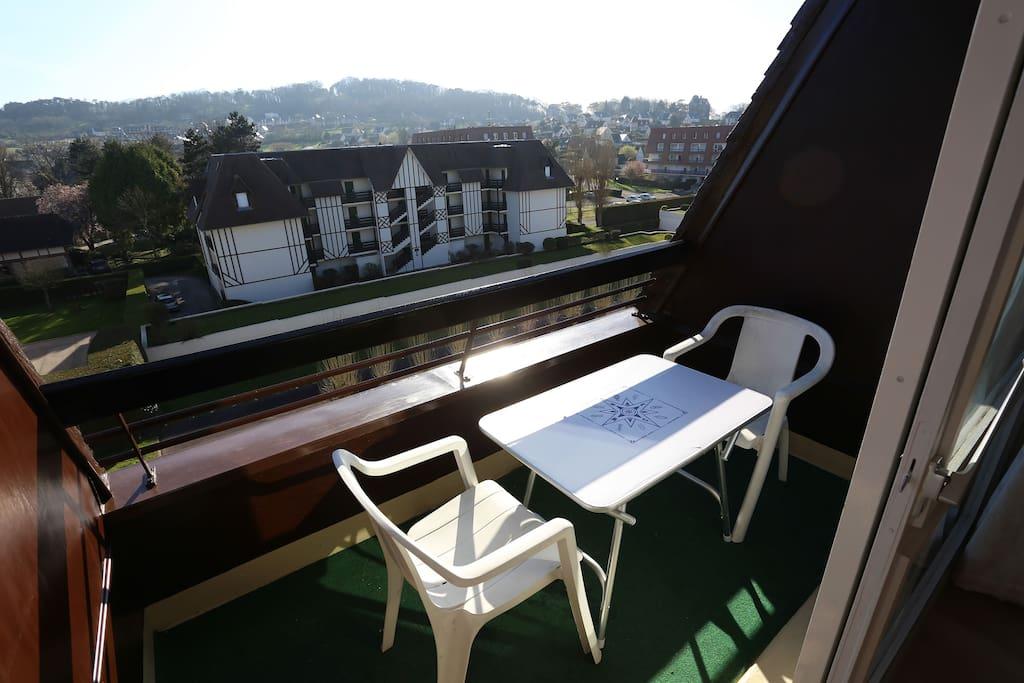 Equipements du balcon