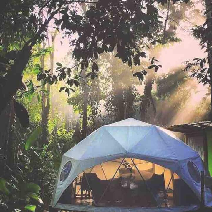 Agua Faith Glamping Dome Costa Rica