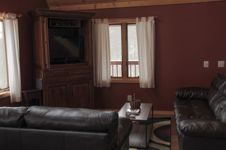 Cozy furnishings for chilling out.