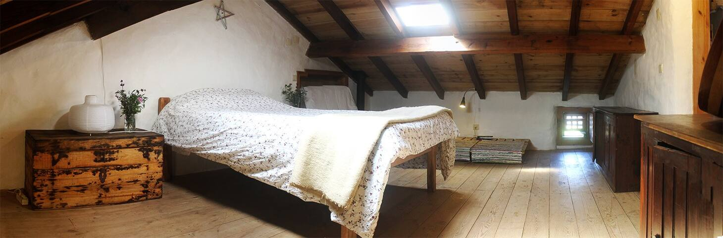 Double Family Room in a Organic Farm House