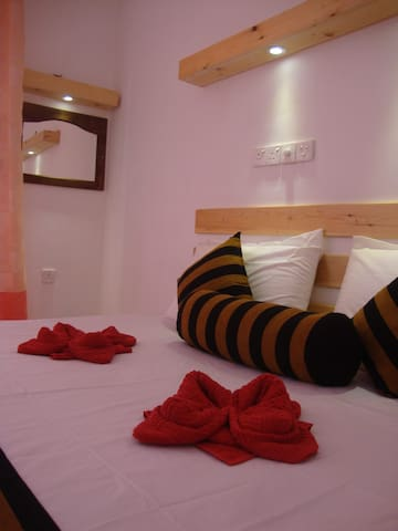 SPACIOUS,CLEAN,PRIVATE DOUBLE ROOM & AC/BREAKFAST