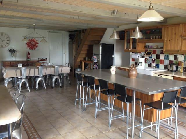 Belle maison de famille La Fermette - Junhac - Ház