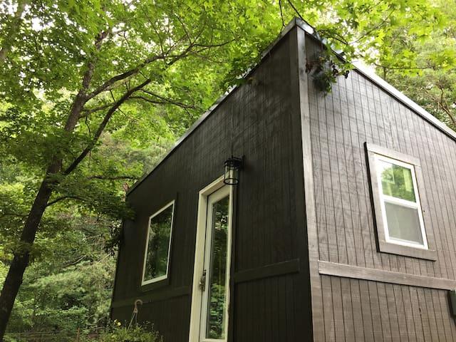 Tiny Brown Home