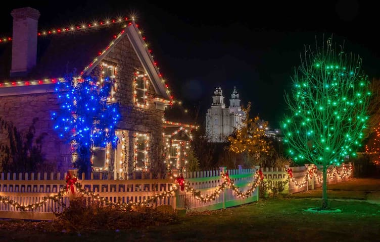 "Manti Pioneer ""Christmas"" Cottage"