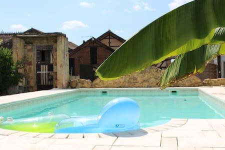 appartement neuf dans ferme piscine - Nogaro - Ev