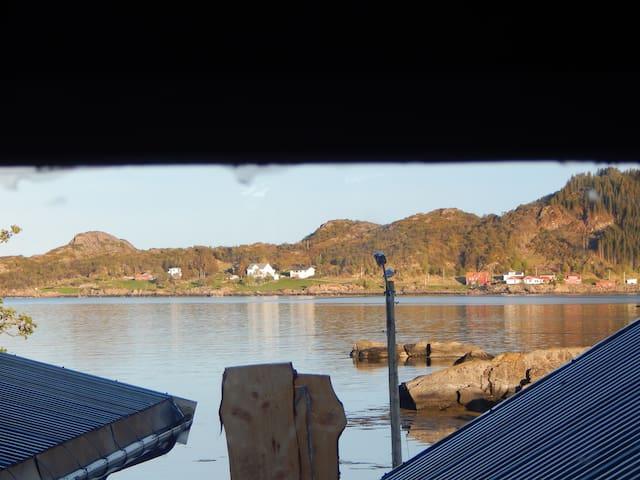 Close to the sea in Lofoten