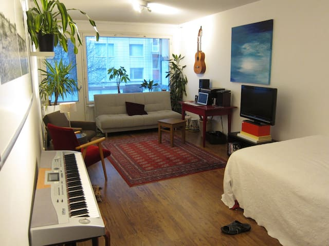 Room in the absolute center! - Tampere - Departamento