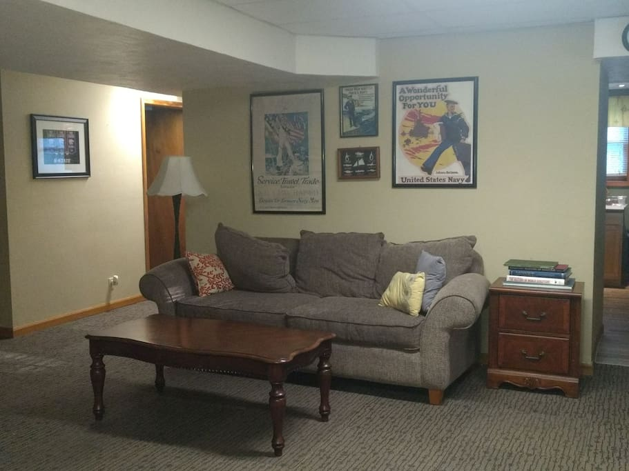 1 Bedroom 1 Bath Basement Apartment With Kitchen Apartments For Rent In Eudora Kansas United