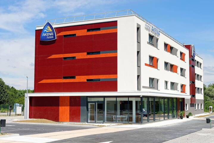appartement dans 1 hôtel neuf, 10 min de Besançon