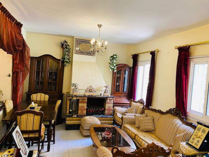 Appartement lumineux et spacieux avec cheminée ❄️☃️