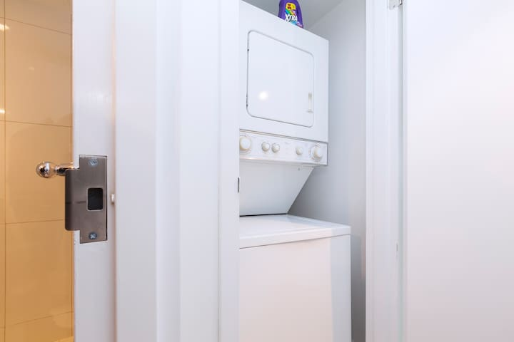 Functional Washer + Dryer
