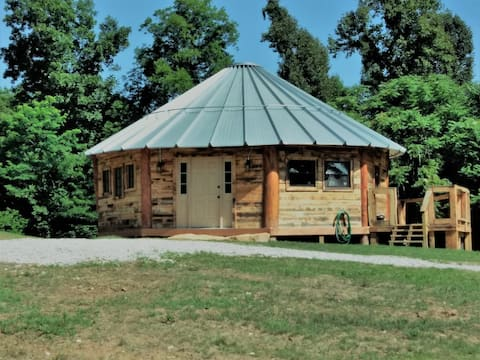 "The ""Highlander"" Rustic Yurt"