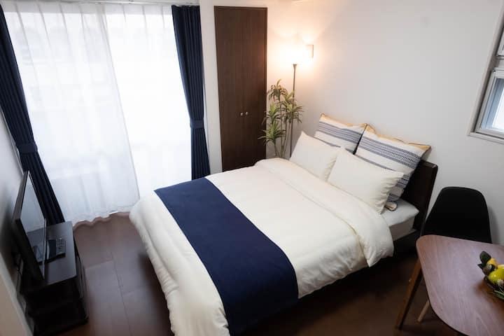 Japanese Tatami & Bedroom on 3rd floor, Naha city
