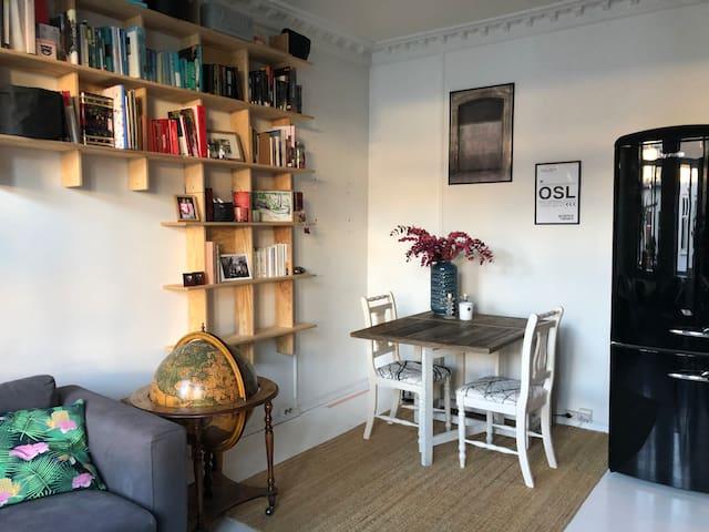Typical Grunerløkka apartment, close to everything