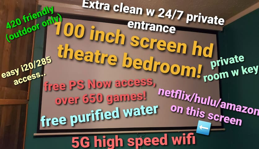 Cleanest/Budget Friendly/Private/Best Amenities(B)