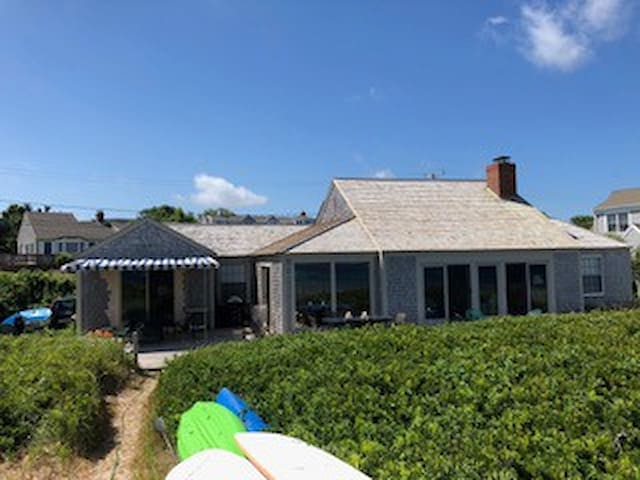 Family Cottage on Sesuit Harbor - Private Beach