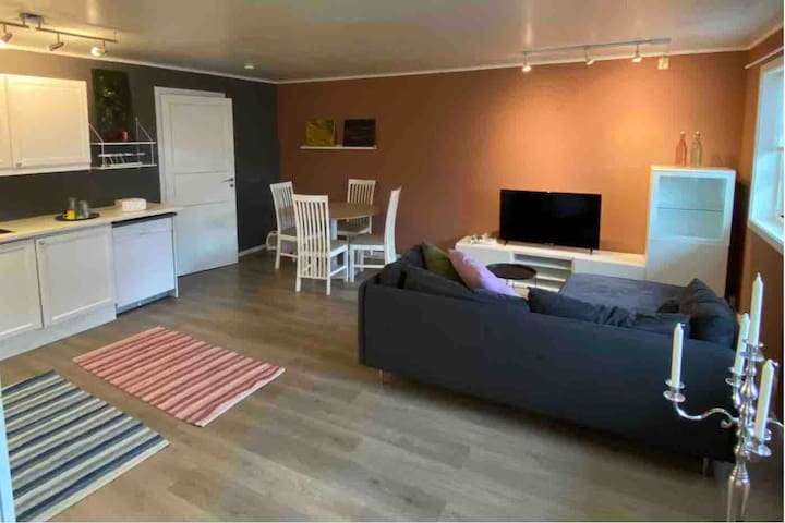 Koselig leilighet i Bodø med gratis parkering