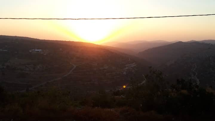 Sweet home in Beit Jala with amazing sunset view