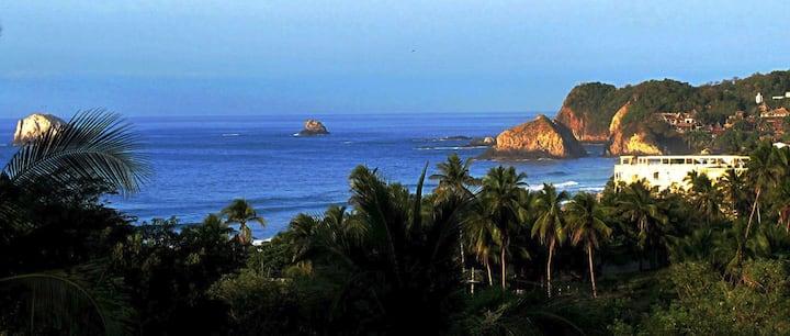 Vacaciones en Zipolite, Natural Pacifico (D2)