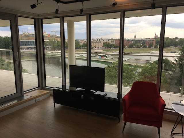 Cracow Riverside - Penthouse