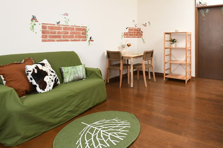 #102 Convenient Flat in Otaru☆5min to station