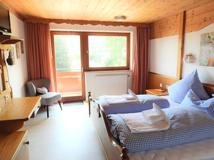Arrive and feel good in the heart of Oberstaufen