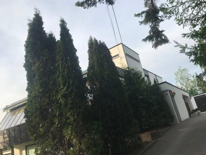 Contemporary villa centrally located in Oslo