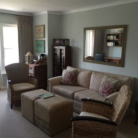 Beautiful upstairs apartment in secure estate.