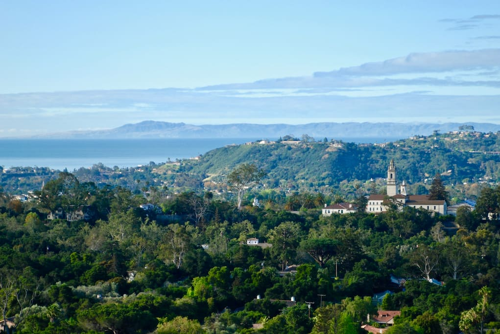 Great view of the Mission and Seminary