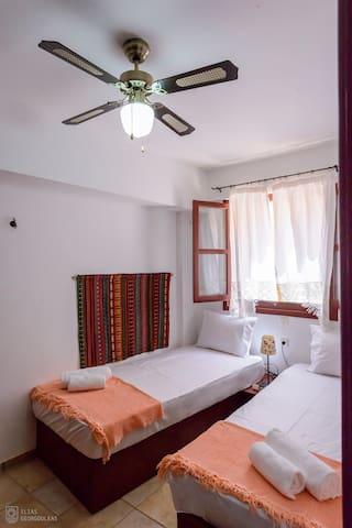 The ground floor bedroom
