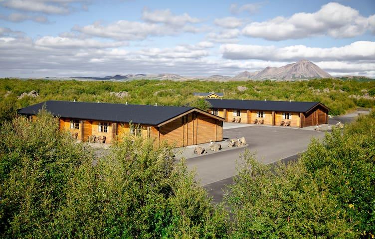 Vogafjós Farm Resort by Lake Mývatn