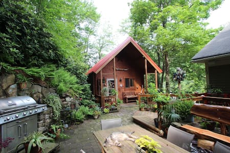 Cabin in the trees in historic Jim Thorpe... - Jim Thorpe - Stuga