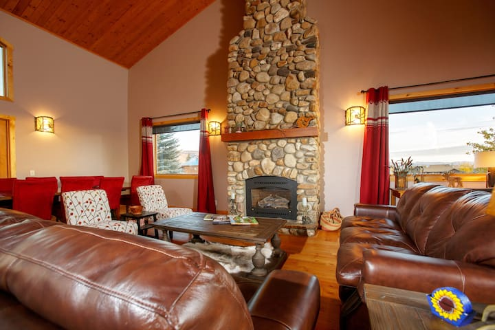 Fireplace in Living Room for winter days