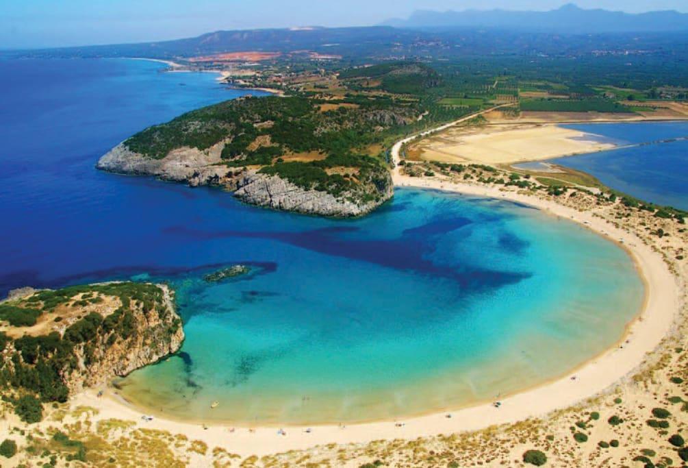 Παραλία Βοϊδοκοιλιάς! Μία από τις ομορφότερες παραλίες στο κόσμο! Μόλις 30 λεπτά από το σπίτι