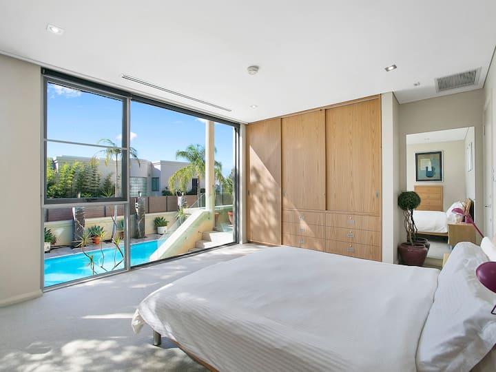 Balmoral slopes, Mosman, luxury, contemporary home