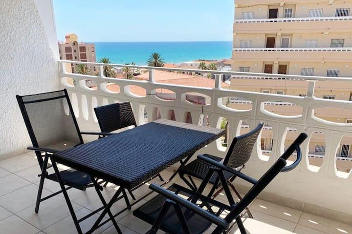Apartamento muy fresco con vistas al mar - La Mata