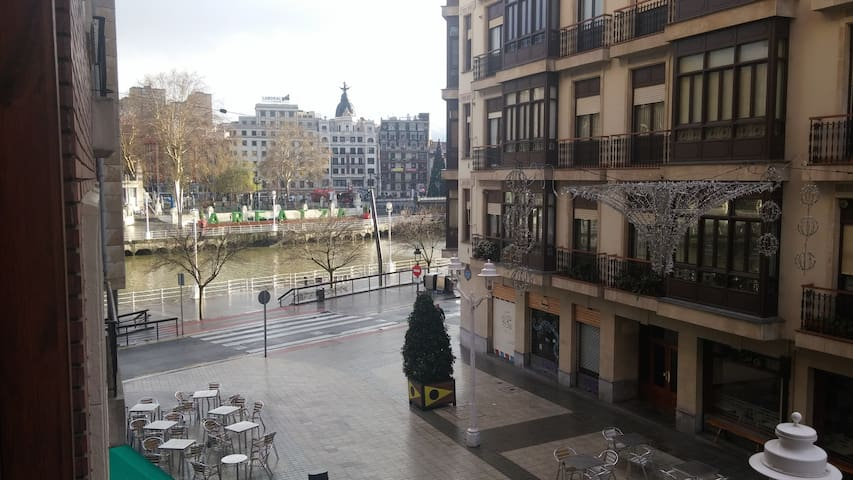 Stunning views in Central Bilbao