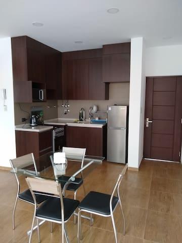 Hermoso y acogedor apartamento.
