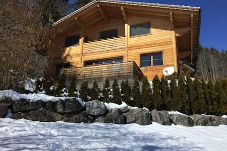 Beautiful Large Sunny Chalet in Alps near Gstaad - Zweisimmen - House