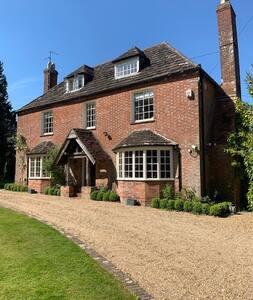 Historical Manor House near Sussex Coast