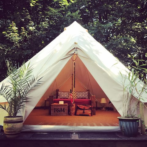 King Bell Tent at Happy Valley