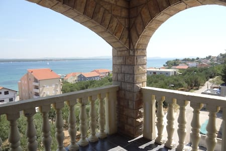 Apartment enjoying a magic sea view - Tkon