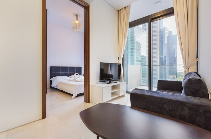 One bedroom with Balcony Sea View Marina Bay