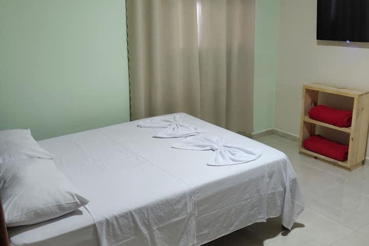 Suite aconchegante para até 02 pessoas no centro de Lençóis.