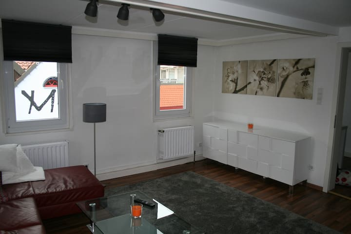 Centrally located flat (98m²) with 2 bedrooms