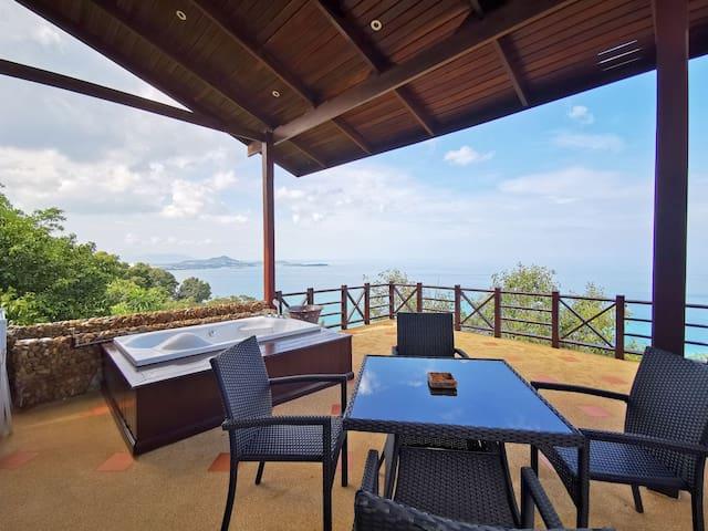 One Bedroom Sea-View Home Ko Samui